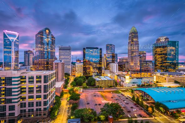 Charlotte, North Carolina - Stock Photo - Images