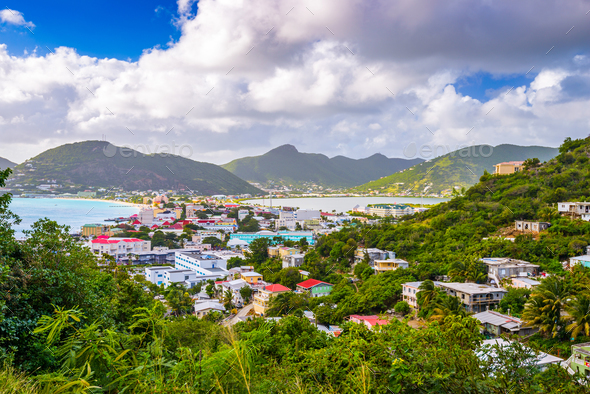 Philipsburg, Sint Maarten - Stock Photo - Images