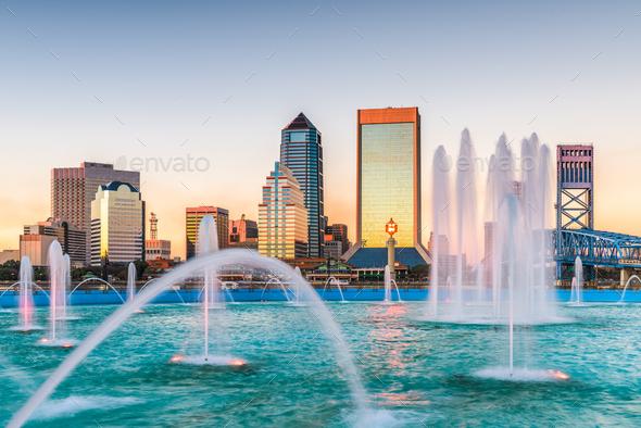 Jacksonville, Florida, USA - Stock Photo - Images