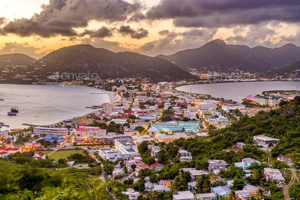 Philipsburg, Sint Maarten - Stock Photo - Images