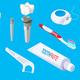 Isometric Dental Elements Set