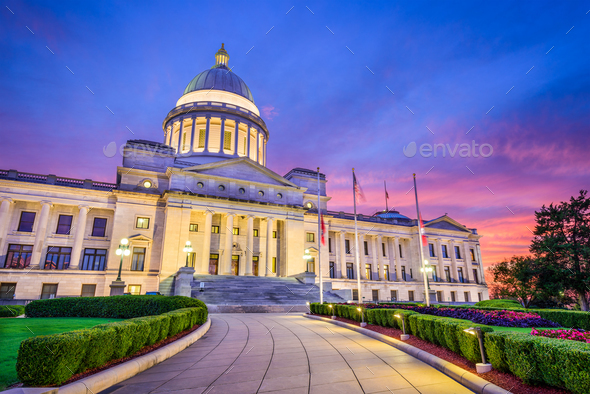 Arkansas State Capitol - Stock Photo - Images