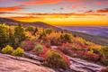 Autumn Dawn in Blue Ridge Mountains - PhotoDune Item for Sale