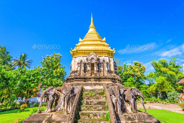 Wat Chiang Man - Stock Photo - Images