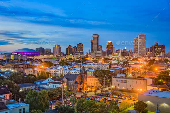 New Orleans Louisiana - Stock Photo - Images