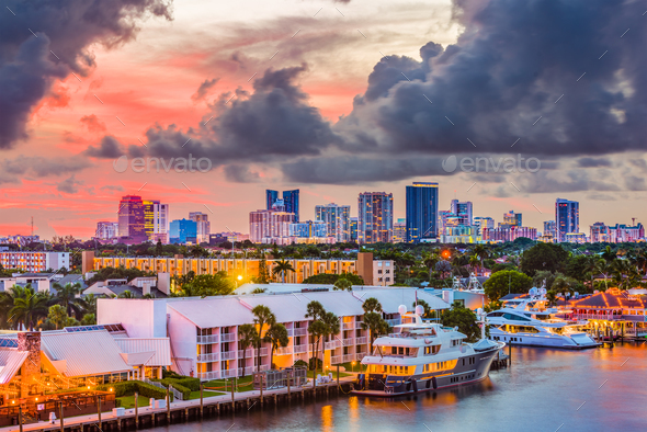 Fort Lauderdale Florida - Stock Photo - Images