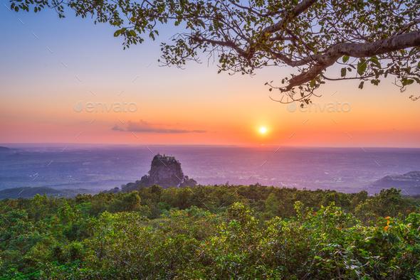 Mt. Popa, Myanmar - Stock Photo - Images