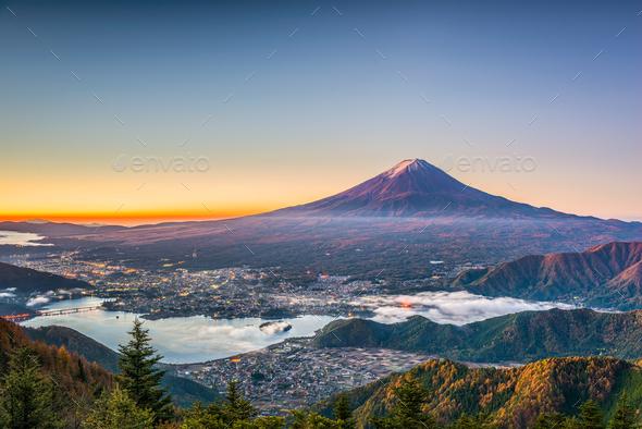 Mt. Fuji Japan - Stock Photo - Images