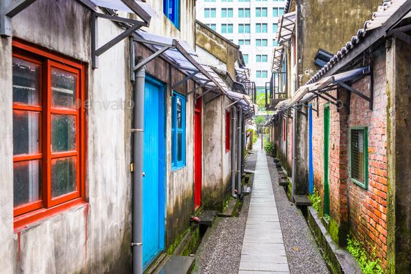 Taipei, Taiwan historic buildings - Stock Photo - Images