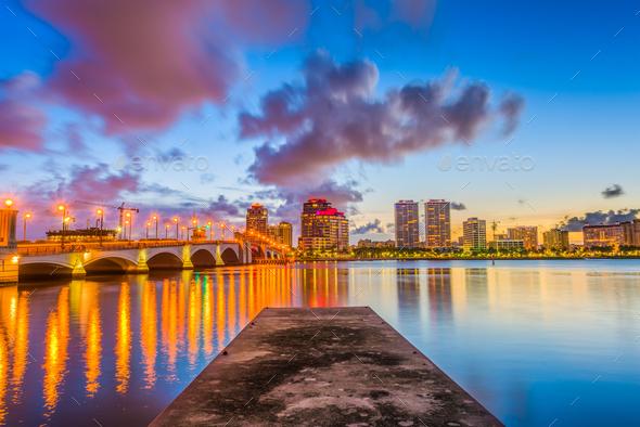 West Palm Beach, Florida - Stock Photo - Images