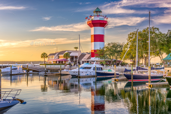 Hilton Head South Carolina - Stock Photo - Images