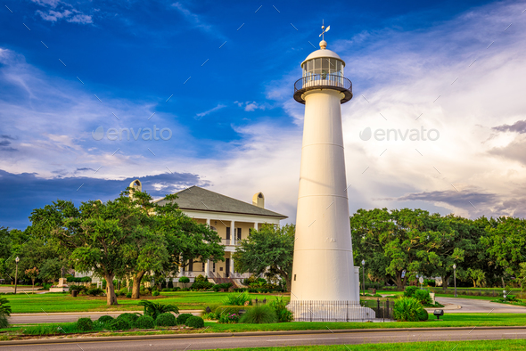 Biloxi, Mississippi, USA - Stock Photo - Images