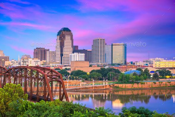 Shreveport, Louisiana, USA - Stock Photo - Images