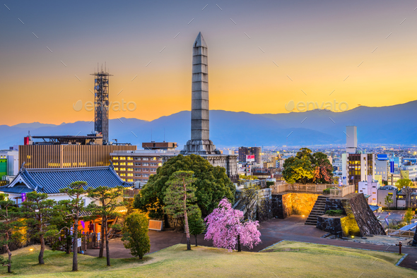 Kofu, Japan - Stock Photo - Images
