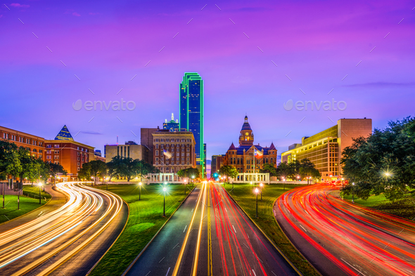 Dealy Plaza Dallas - Stock Photo - Images