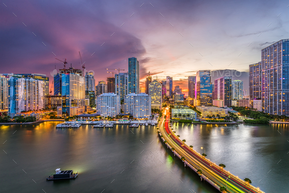 Miami, Florida, USA - Stock Photo - Images