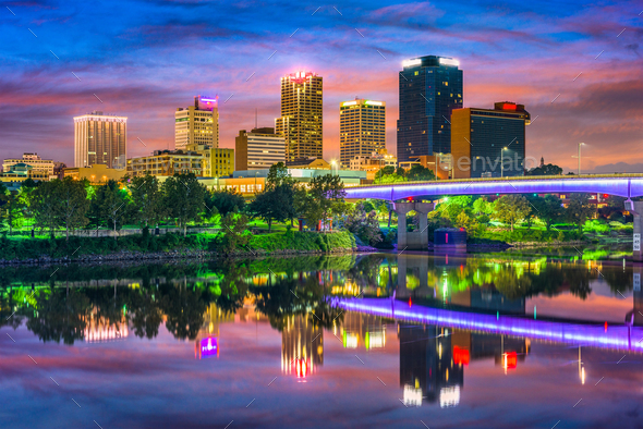 Little Rock, Arkansas - Stock Photo - Images