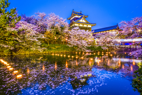 Nara, Japan Castle - Stock Photo - Images