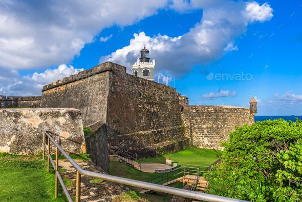 San Juan Puerto Rico - Stock Photo - Images