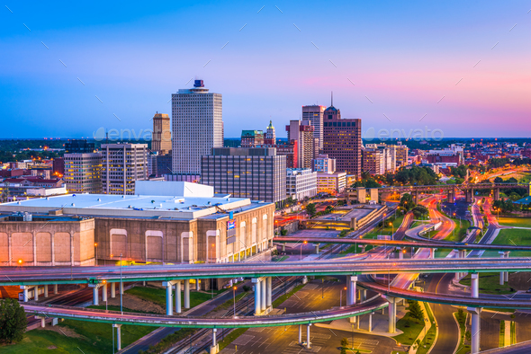 Memphis, Tennessee, USA - Stock Photo - Images