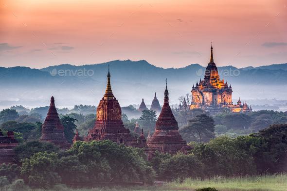 Bagan copy - Stock Photo - Images