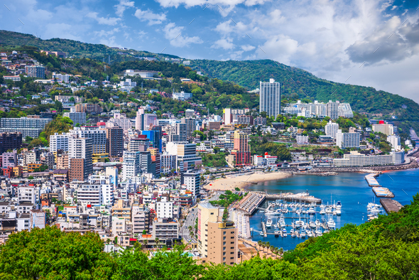 Atami City, Japan - Stock Photo - Images