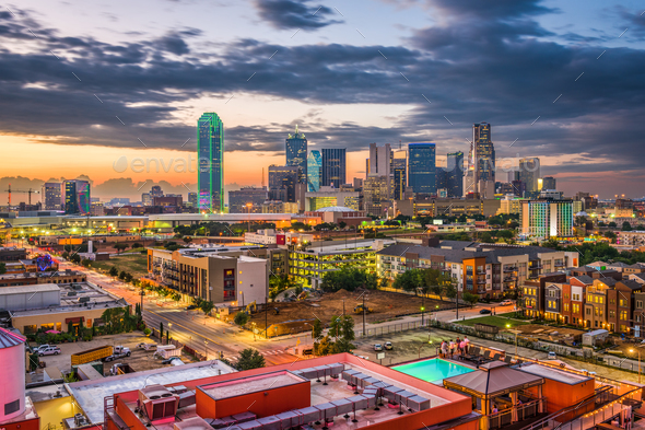 Dallas, Texas, USA - Stock Photo - Images