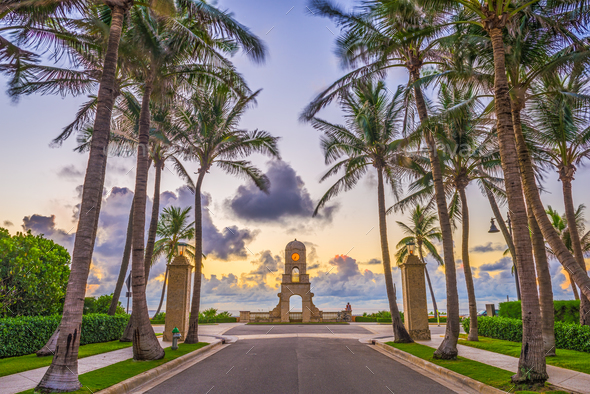 Palm Beach Florida - Stock Photo - Images
