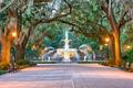 Savannah Georgia Fountain - PhotoDune Item for Sale