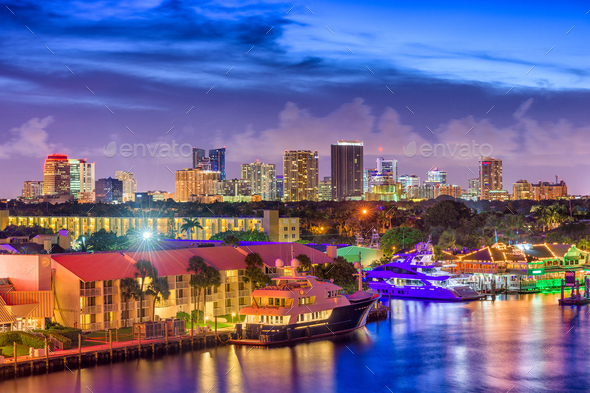 Fort Lauderdale, Florida, USA - Stock Photo - Images