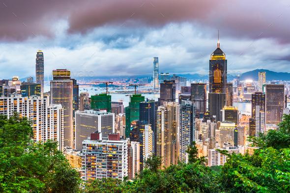 Hong Kong China - Stock Photo - Images