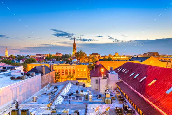Charleston, South Carolina - Stock Photo - Images