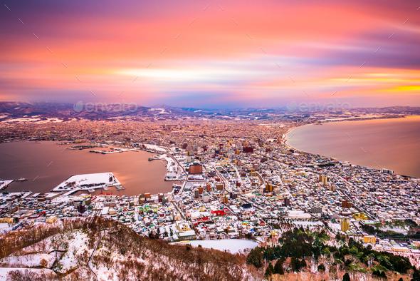 Hakodate, Hokkaido, Japan - Stock Photo - Images