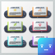 Futuristic Infographic Paper Frames (2 Styles) - GraphicRiver Item for Sale