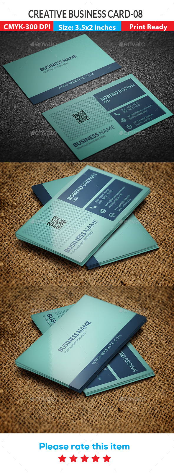 Creative Business Card -08 - Creative Business Cards