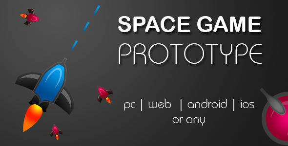 Space Game Prototype - CodeCanyon Item for Sale