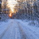 rustic road in winter - PhotoDune Item for Sale