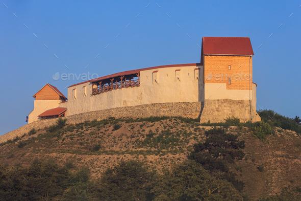 Feldioara Fortress. Brasov, Romania - Stock Photo - Images