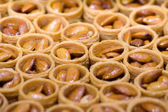 Turkish baklava - Stock Photo - Images