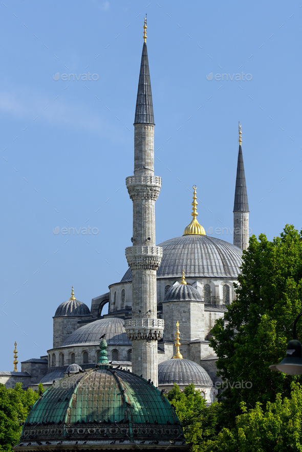 Istanbul, Blue Mosque - Stock Photo - Images