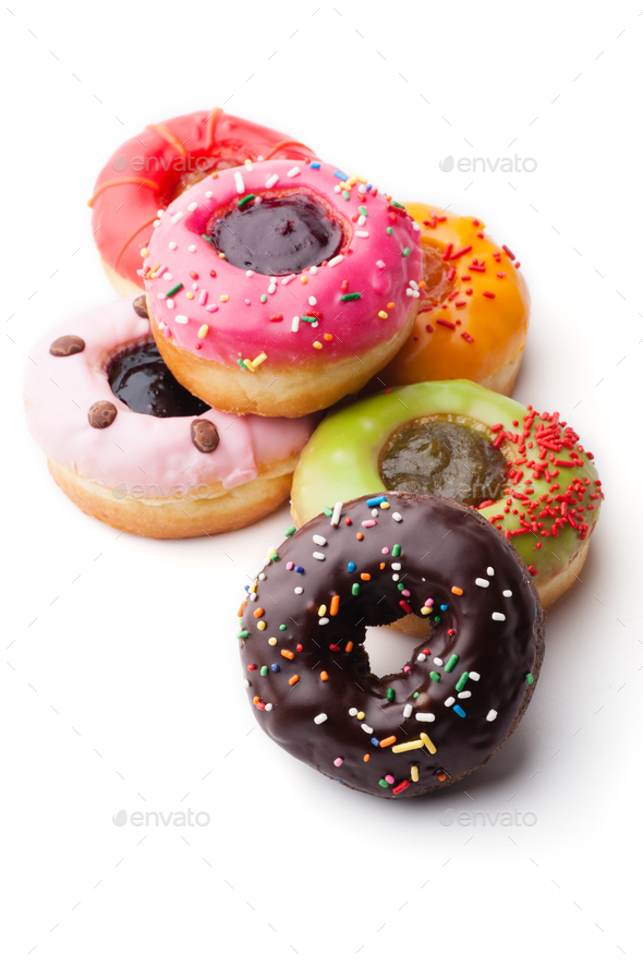 Glazed donuts - Stock Photo - Images