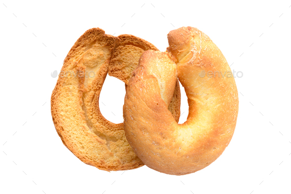 Toasted bagels - Stock Photo - Images