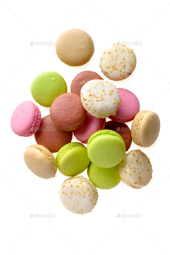 Multicolored macarons - Stock Photo - Images
