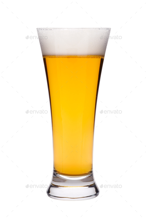 Beer in a glass - Stock Photo - Images