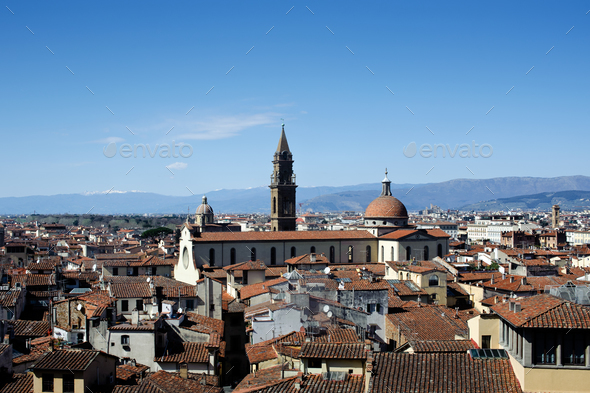 Roofs of Firenze - Stock Photo - Images