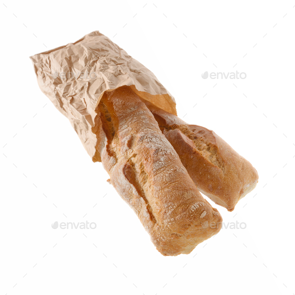 Rustic wheat bread - Stock Photo - Images
