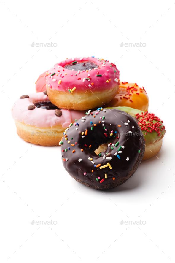 Glazed donuts - Stock Photo - Images