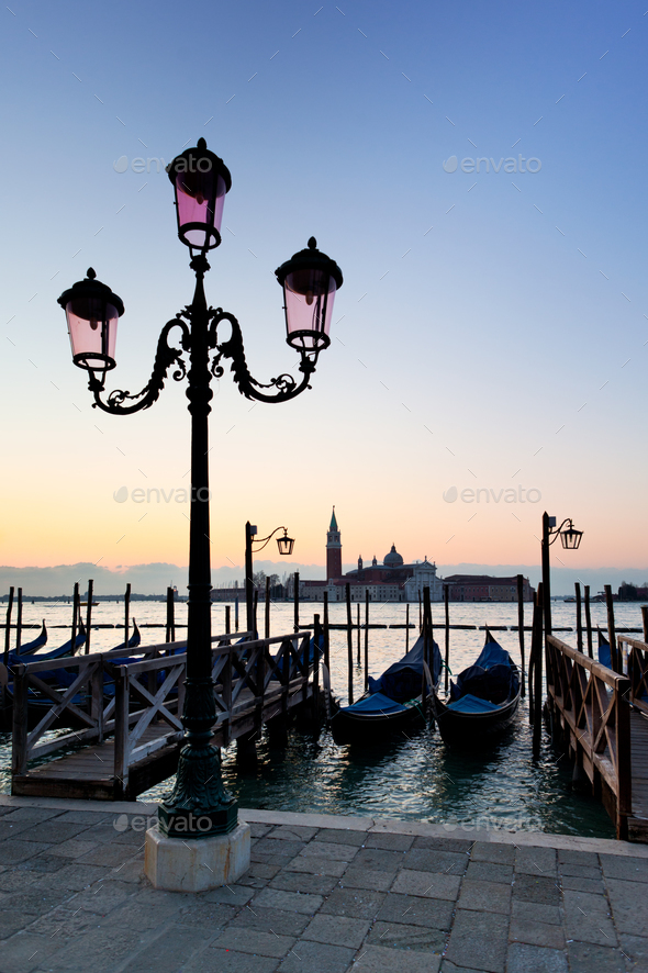 Venetian morning - Stock Photo - Images