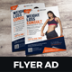 Fitness Weight Loss A5 Flyer Design