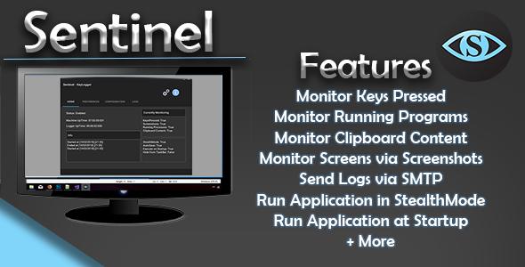(Windows) Sentinel - Keylogger - CodeCanyon Item for Sale